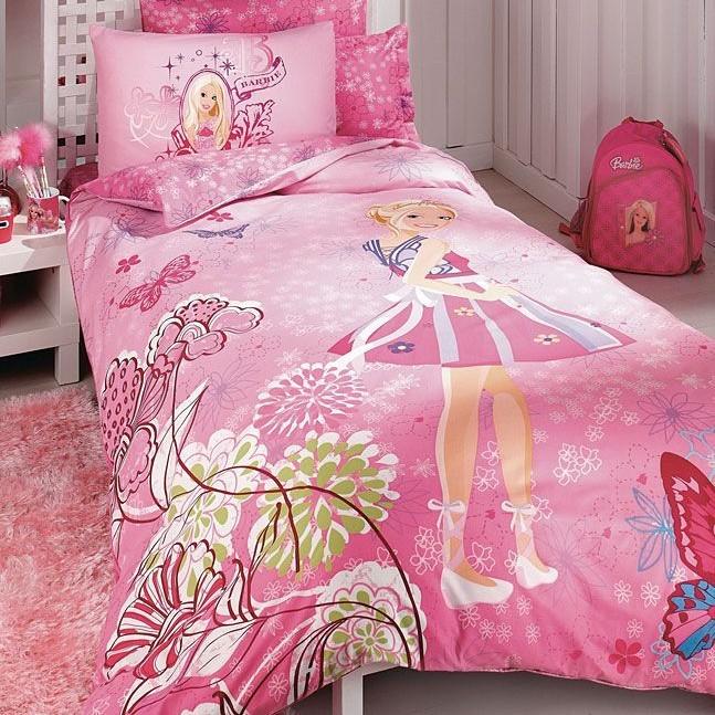 Детское постельное белье Barbie butterfly