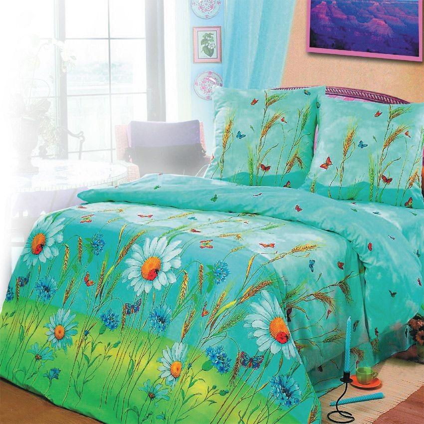Комплект постельного белья Русское поле (1,5-спальный)