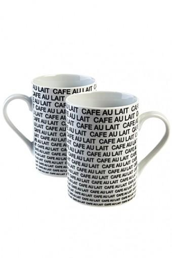 Подарочный набор из двух кружек Кофе с молоком