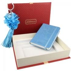 Подарочный набор Venuse: записная книжка и брелок