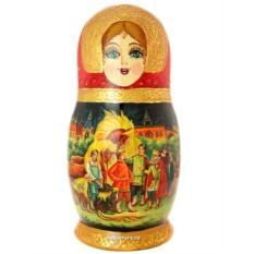 Набор матрешек из 15 штук Русские сказки