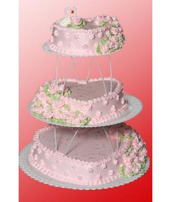 Свадебный торт «Сердце»