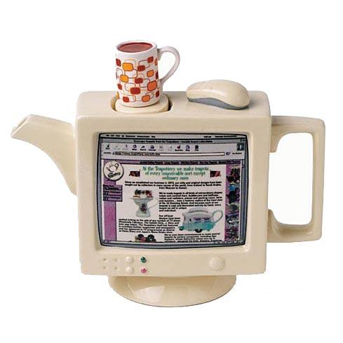 Фарфоровый заварочный чайник «Пентиум»