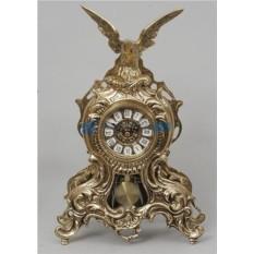 Часы из бронзы с маятником Орёл
