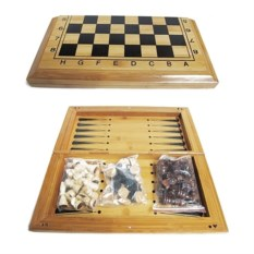Игра 3 в1 Шахматы, шашки, нарды, размер 40 х 20 х 5 см