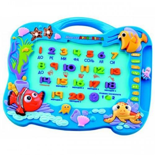 Обучающая игрушка Морская арифметика