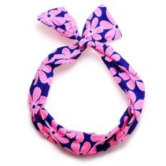 Повязка-солоха (розовый узор)