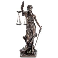 Статуэтка Фемида. Богиня правосудия