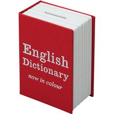 Книга-сейф «Английский словарь» мини