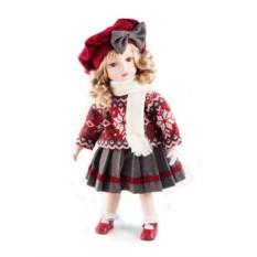 Коллекционная кукла Ученица