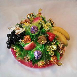 Букет из конфет Фруктовое изобилие