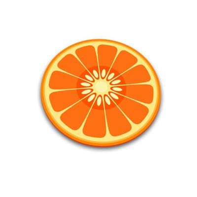 Разделочная доска Апельсин