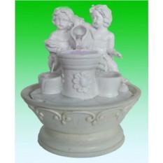 Декоративный фонтан Два ангелочка