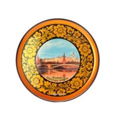 Тарелка-панно хохлома Москва-2