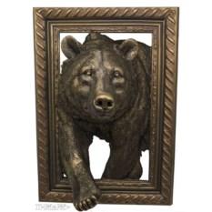 Объемное панно Медведь (45х32 см)
