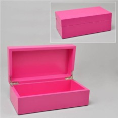 Розовая шкатулка из бамбука Векет