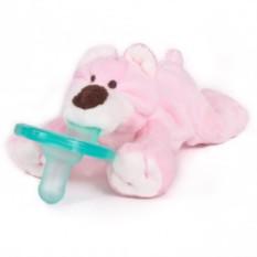 Соска и держатель Розовый Мишка WubbaNub ®