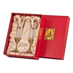Набор из 2-х бокалов для шампанского Богемия