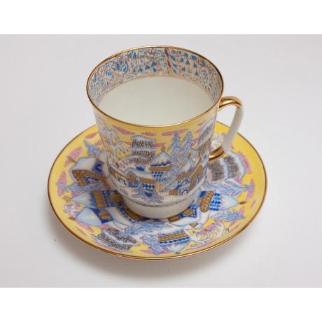 Чайная пара «Морозный вечер»