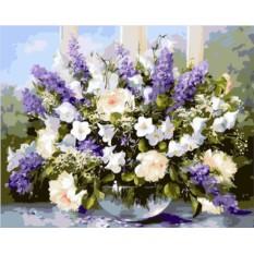Картины по номерам «Букет полевых цветов»