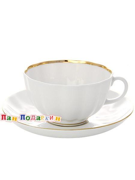 Чайный сервиз форма Тюльпан с рисунком Белоснежка