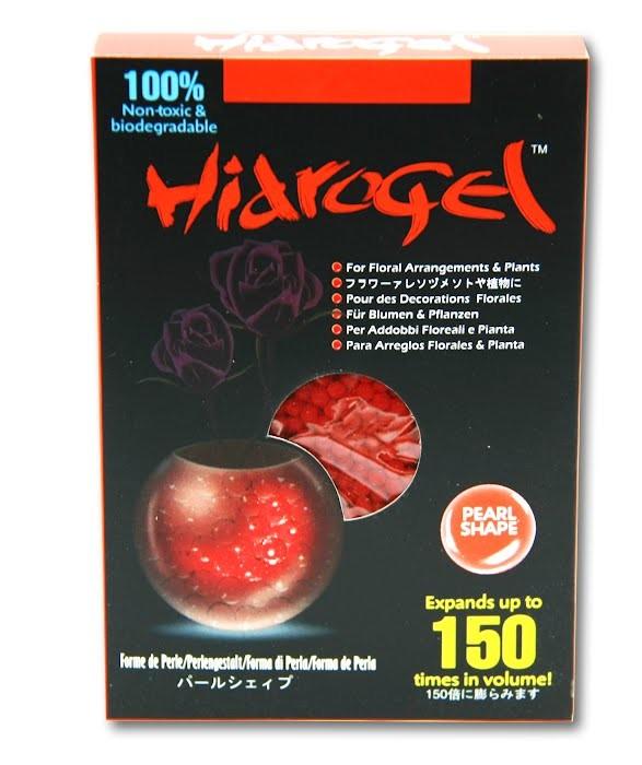 Гидрогелевые шарики Nano (красные)