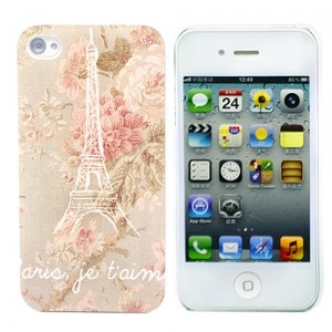 Чехол для iPhone 4/4S Romance in Paris