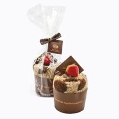 Полотенце «Кекс с карамельной начинкой и ягодой клубники»