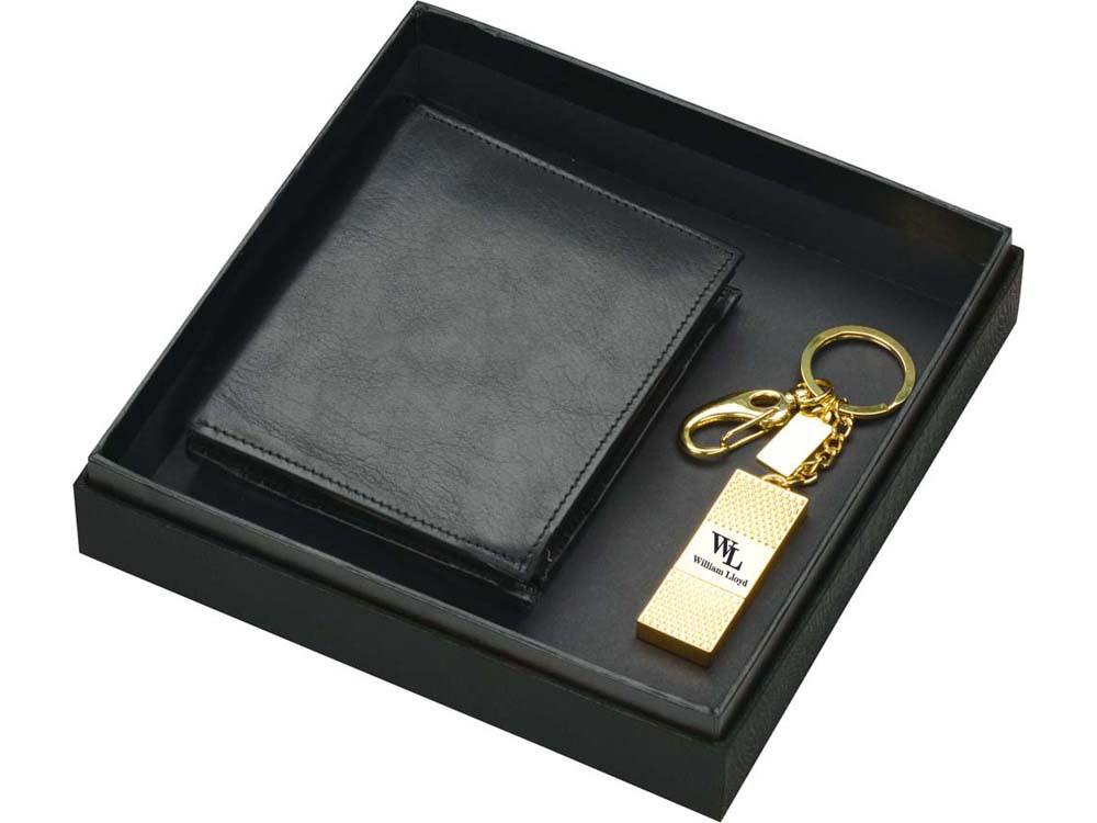 Набор William Lloyd: портмоне, флеш-карта USB 2.0 на 8 Gb