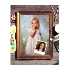 Портрет по фото Девочка