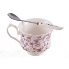 Чайный набор на одну персону из чашки и ложечки