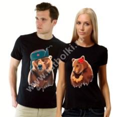 Парные футболки Медведи