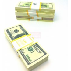 Забавная пачка денег Доллары