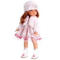 Кукла-девочка Рыжая Эмили. Зимний образ