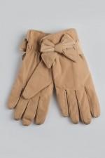 Женские перчатки Мадлен (кремовые)