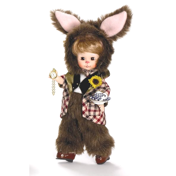 Мартовский кролик с часами
