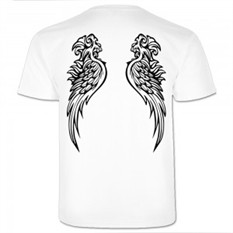 Мужская футболка Ангел