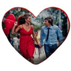 Подушка «Сердце» с вашим фото
