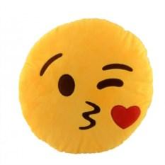 Подушка Emoji Kiss