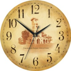 Сувенирные настенные часы Сочи. Башня
