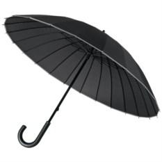 Черный зонт-трость Ella