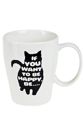 Кружка Счастливый кот