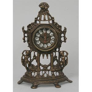 Часы половинки «Амуры» 32х21 см