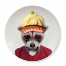 Обеденная тарелка Baby Raccoon