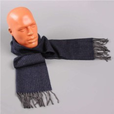 Серый двухсторонний шарф Club Seta