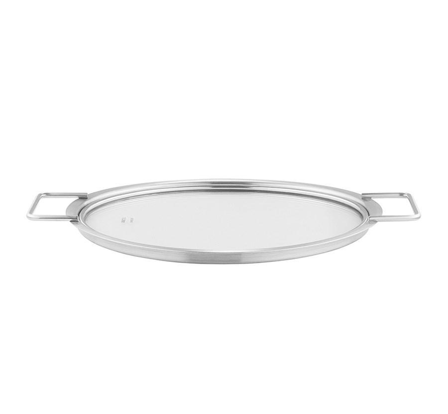 Стеклянная крышка (диаметр 24 см)
