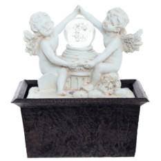 Настольный фонтан со светодиодной подсветкой Ангелы