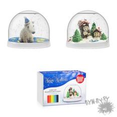 Набор Создай Волшебный шар со снегом. Домики