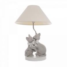 Настольная лампа Влюбленные кошки