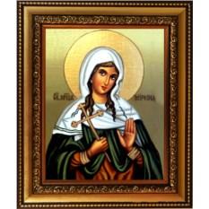 Икона на холсте Миропия Хиосская Святая мученица